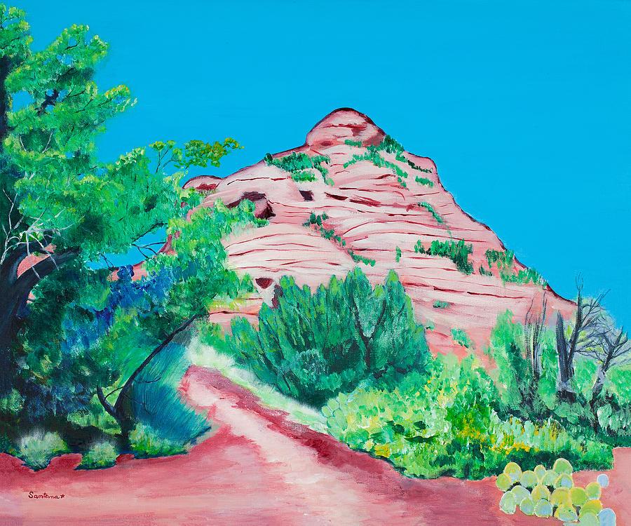 The Path    20 x 24 by Santana Star