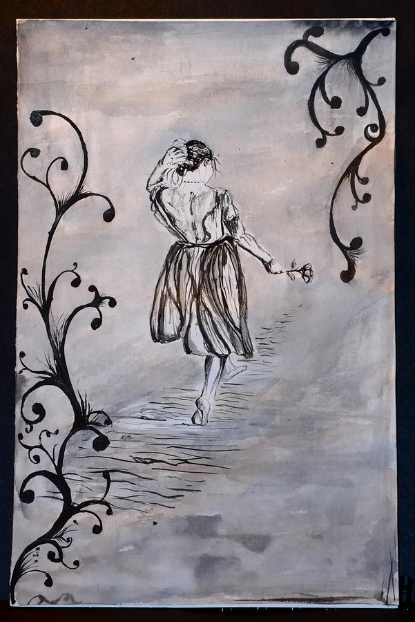 The Path  Drawing by Cristina Sofineti