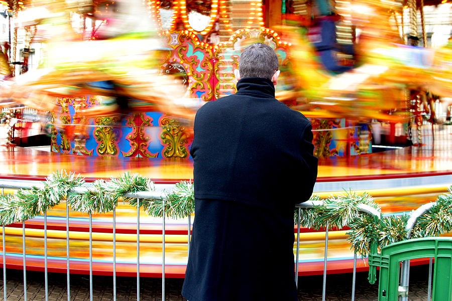 London Photograph - The Patient Father by Jez C Self