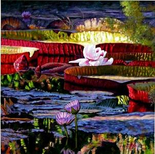 The Patterns Of Beauty Painting by John Lautermilch