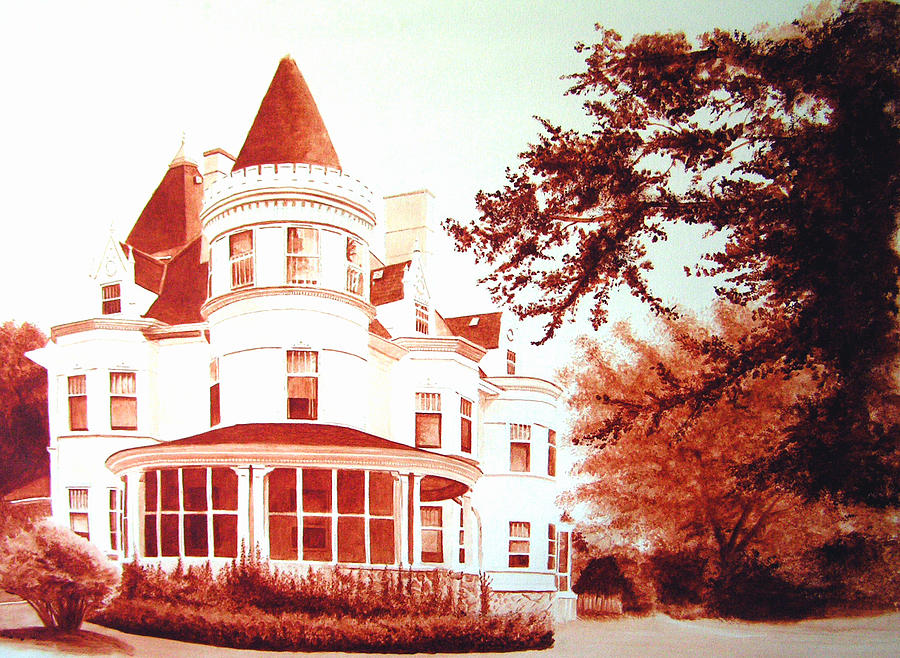 House Painting - The Patton House by Scott Robinson