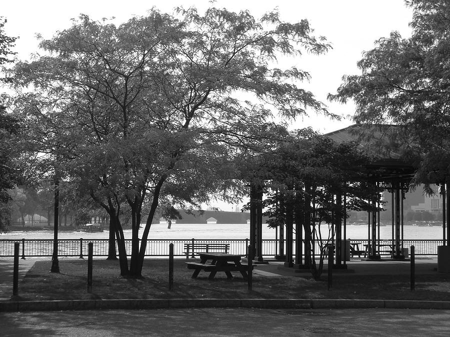 The Pavilion Photograph by Nancy Ferrier