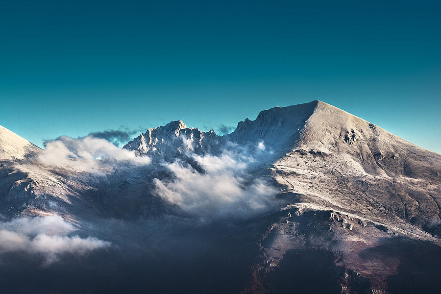 Backpack Photograph - The Peak by Ivan Vukelic