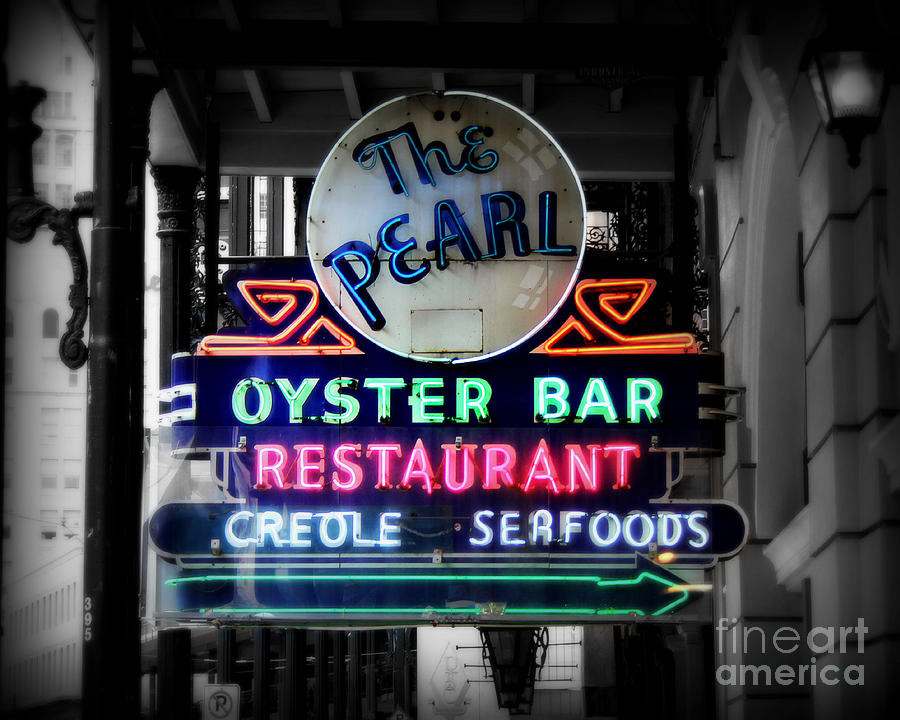 New Orleans Photograph - The Pearl by Perry Webster