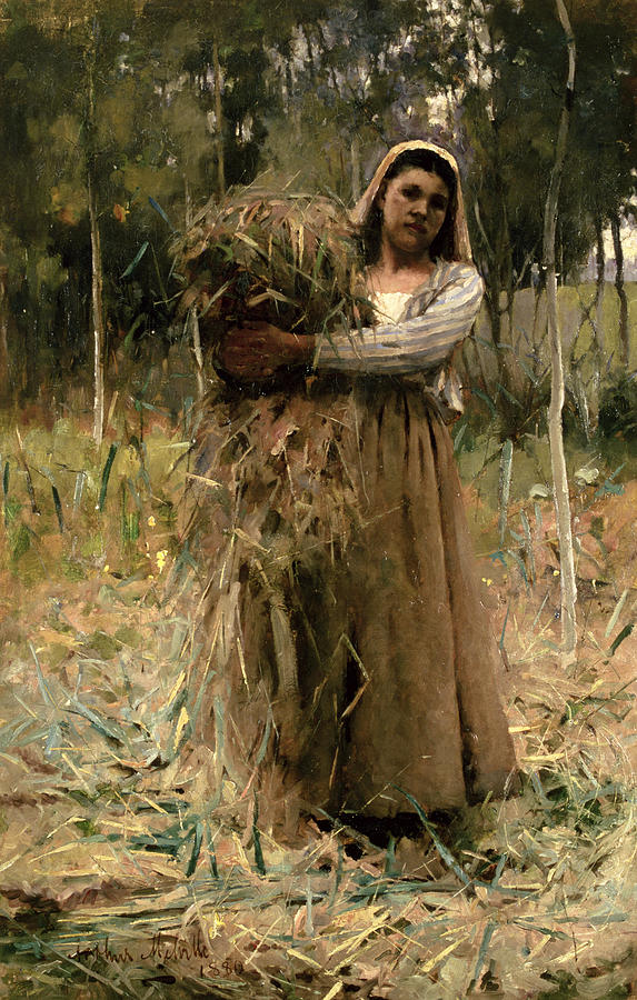 The Peasant Girl Painting by Arthur Melville