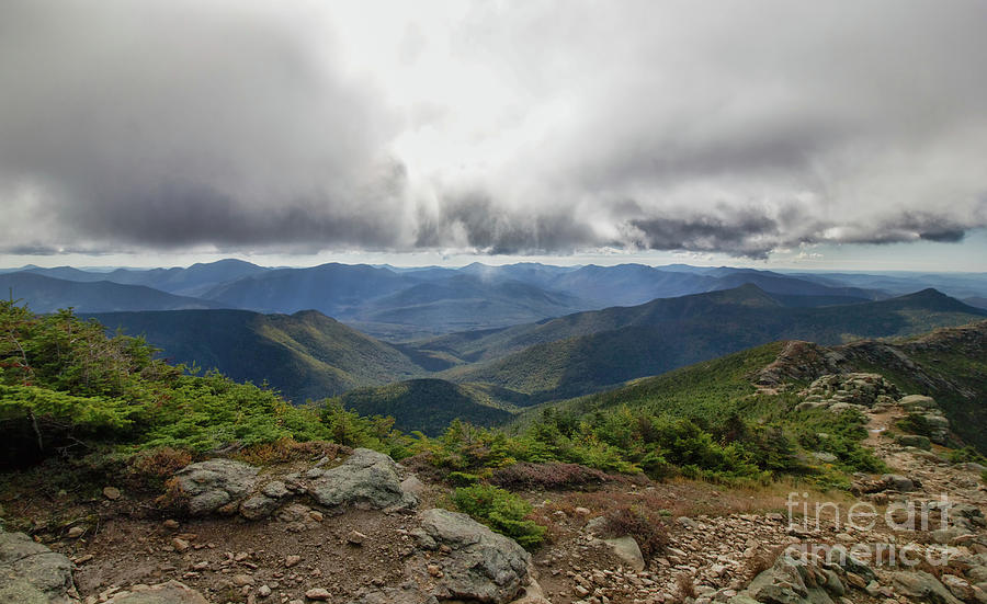Franconia Ridge Photograph - The Pemi Wilderness by Diana Nault