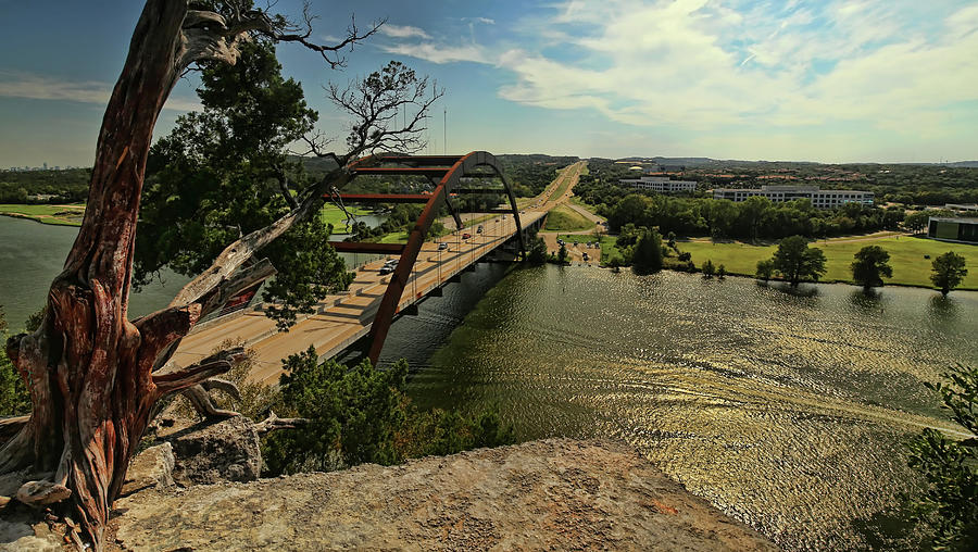 The Pennybacker Bridge Photograph