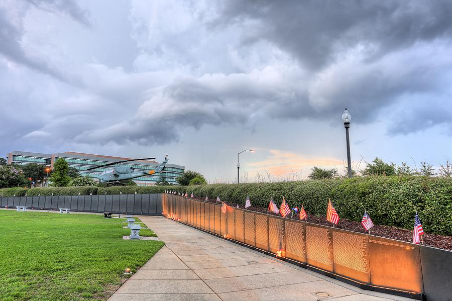 Pensacola Photograph - The Pensacola Vietnam Wall by JC Findley