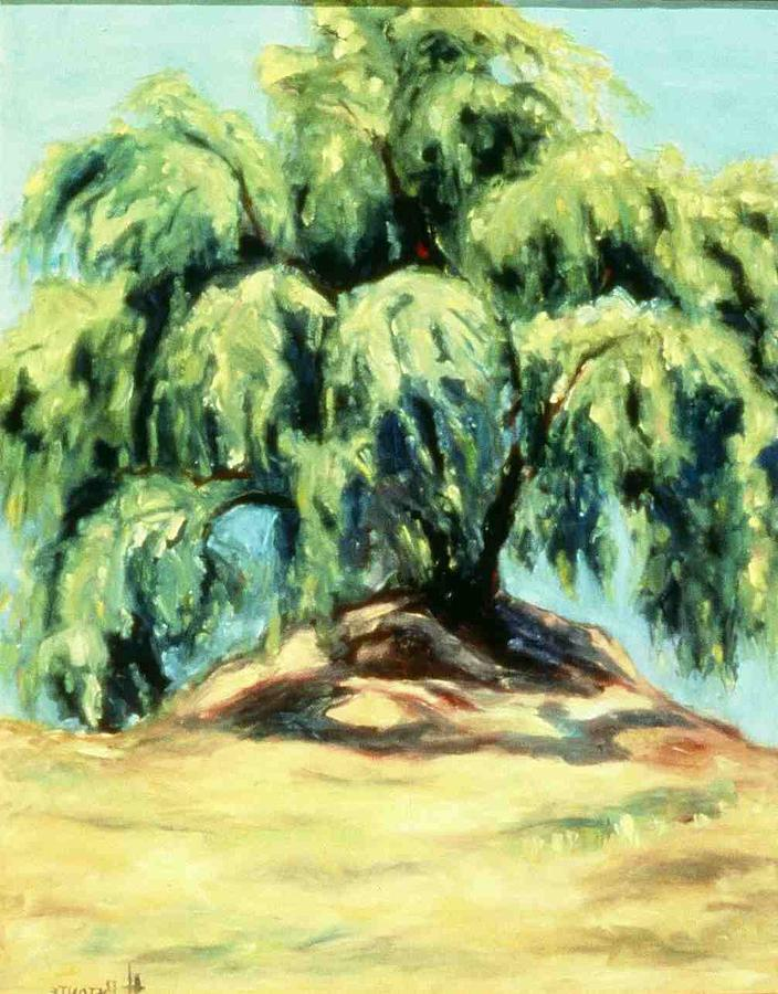 The Pepper Tree Painting by Helen O Hara