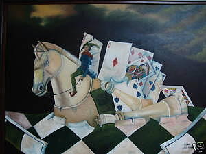Surrealism Painting - The Perfect Play by Carlos Rodriguez Yorde