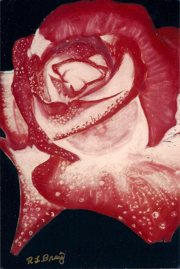 The Perfect Rose Painting by Robert Bray