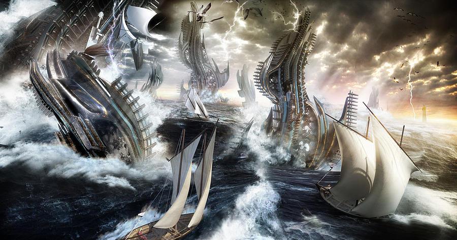 The Perfect Storm Digital Art by Benoit Patterlini
