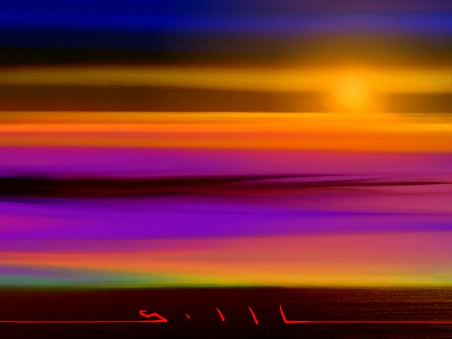 Sunset Painting - The Perfect Sunset by Lee Gallaher