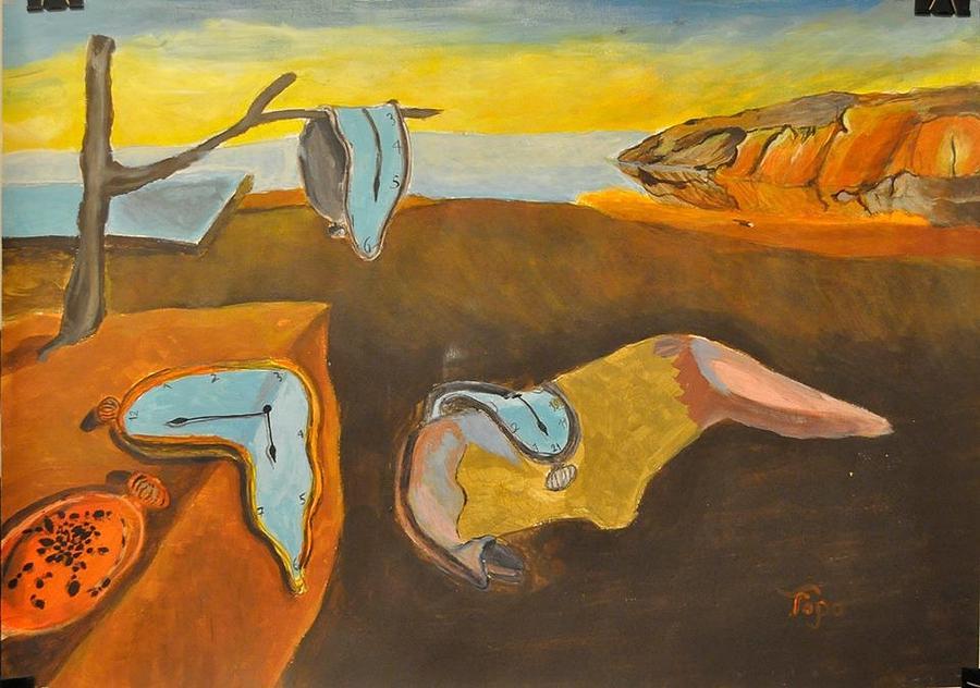 salvador dali paintings the persistence of memory