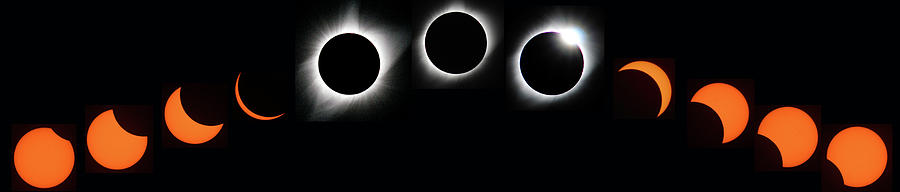 The Phases of an Eclipse - Curved by Matt Swinden