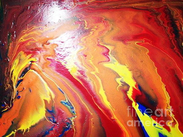The Pheonix Painting by Firas Mohamed