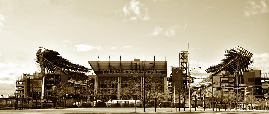 Sports Photograph - The Philadelphia Eagles - Lincoln Financial Field by Bill Cannon