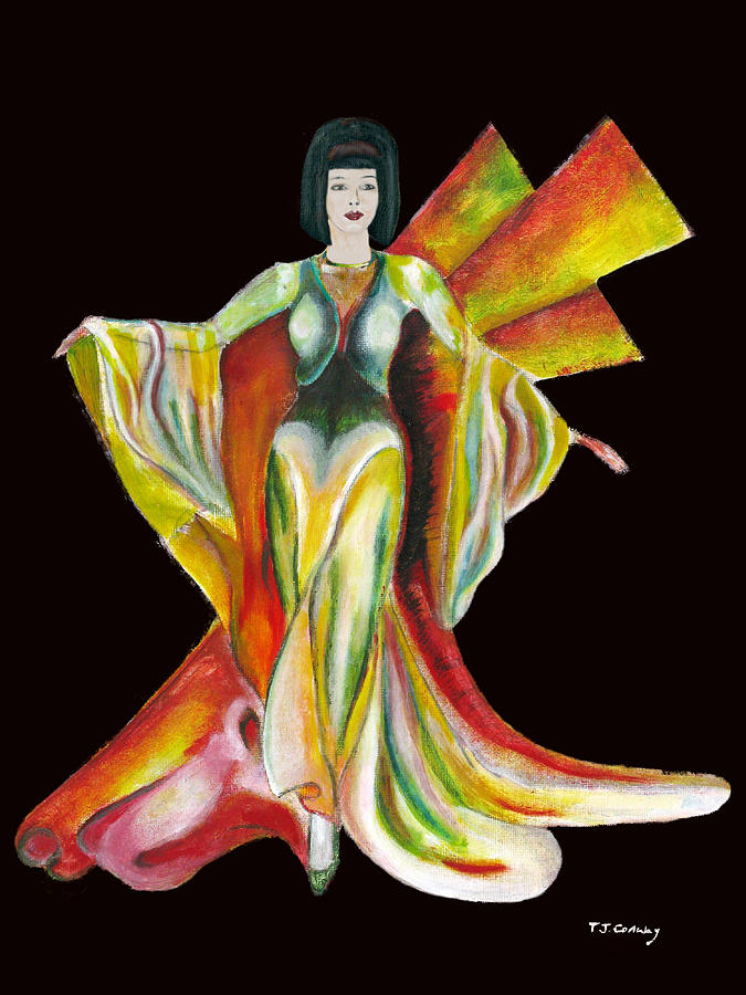 Dresses Painting - The Phoenix 2 by Tom Conway