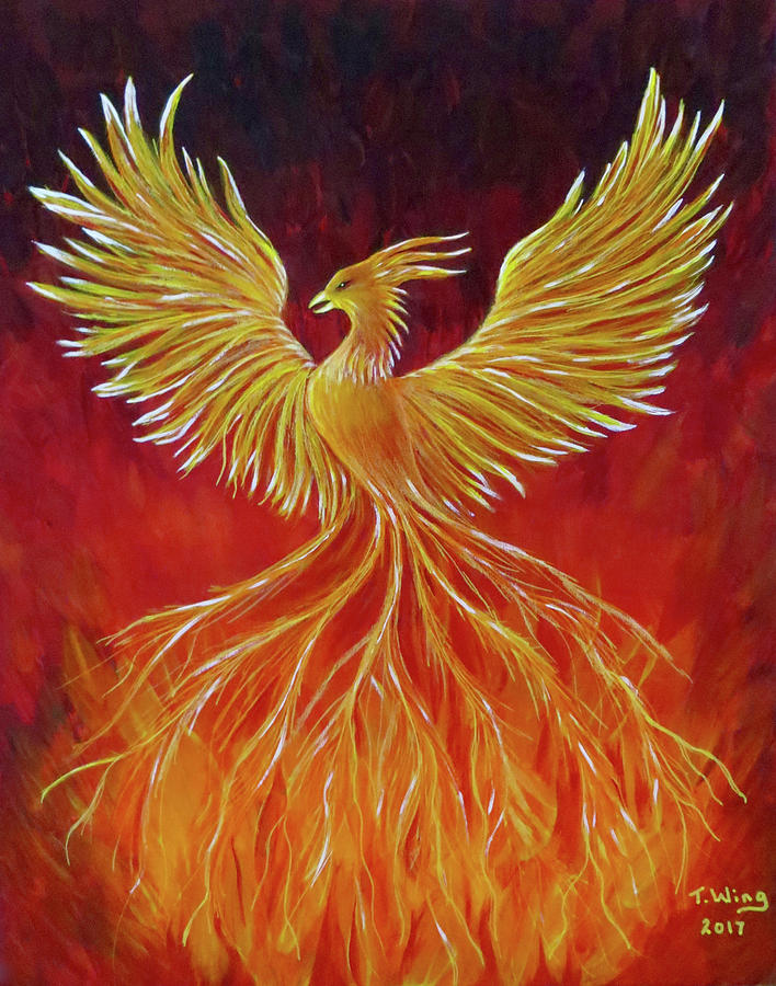The Phoenix by Teresa Wing