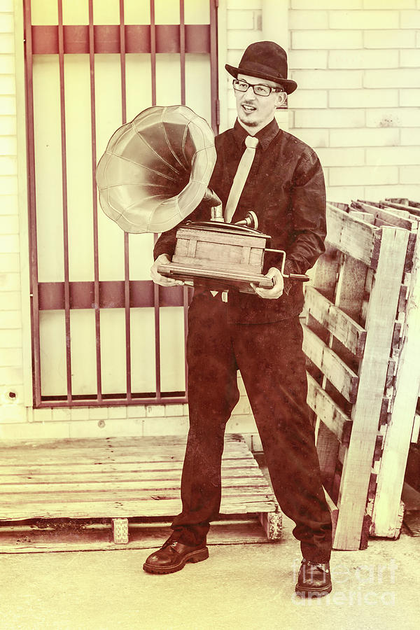Phonograph Photograph - The Phonograph Songster by Jorgo Photography - Wall Art Gallery