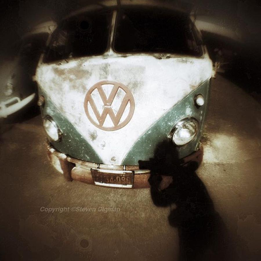 Vw Photograph - The Photographer  by Steven Digman