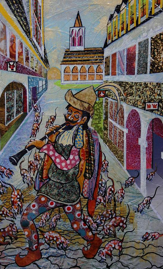 The Pied Piper Mixed Media by Bob Craig