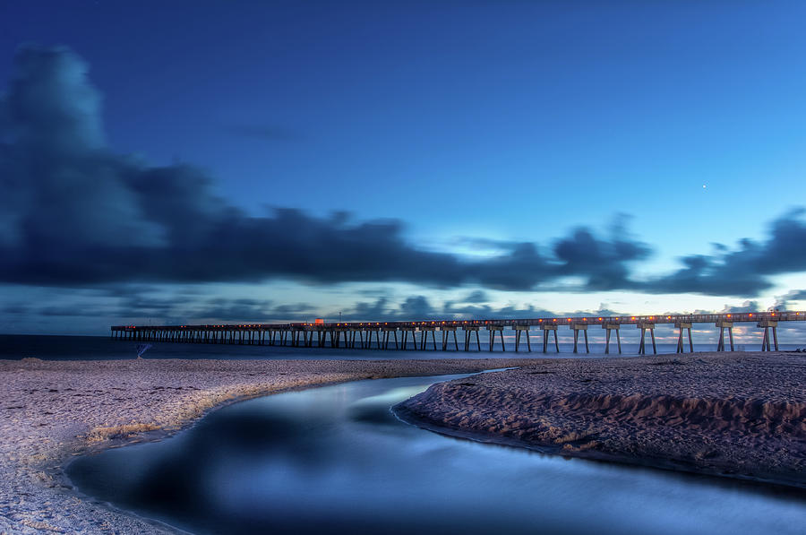 The Pier in Panama by Daryl Clark
