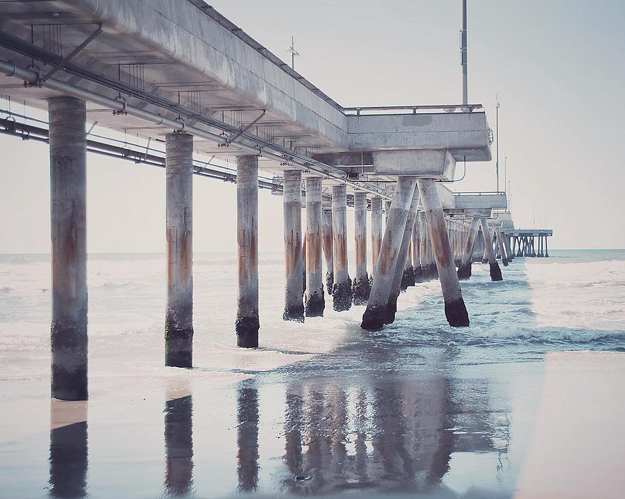 Pier Photograph - The Pier by Nastasia Cook