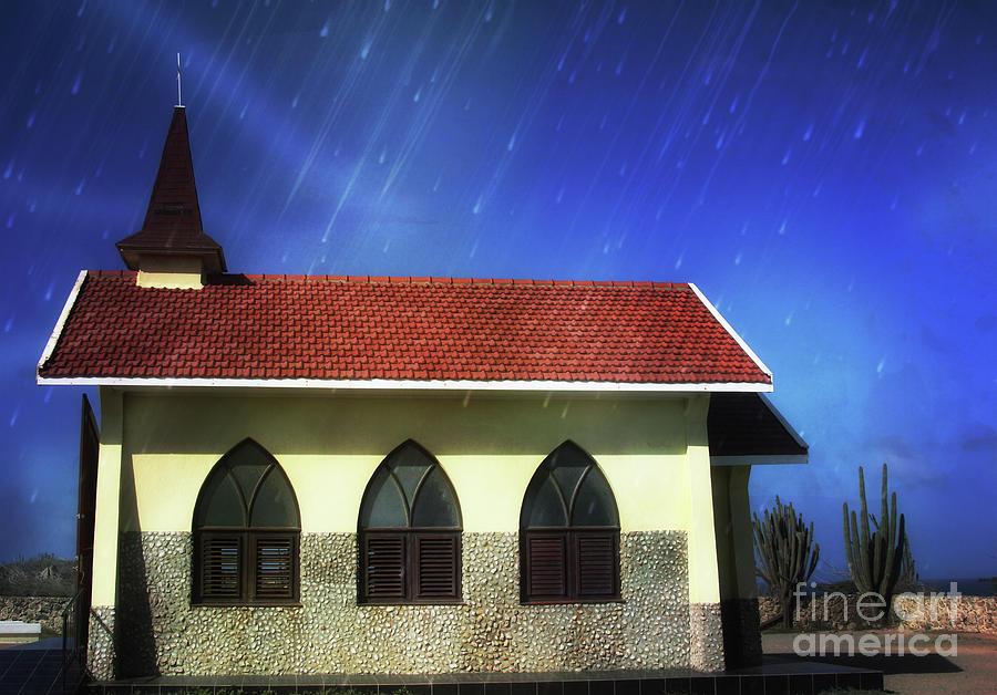 Church Photograph - The Pilgrims Church  by Steven Digman