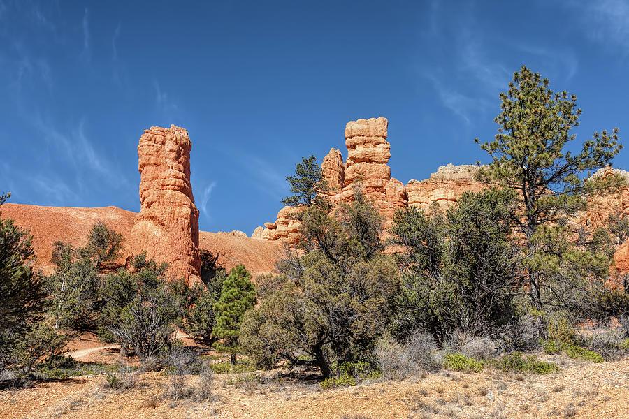 Adventure Photograph - The Pillars by John M Bailey