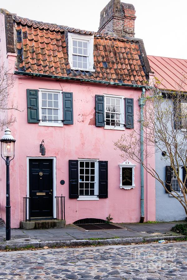 The Pink House Charleston South Carolina Photograph By