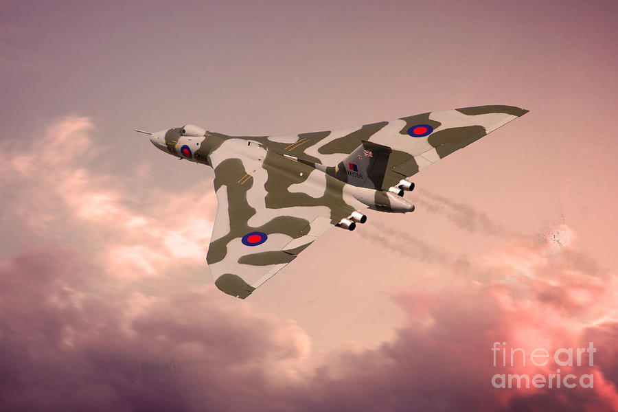 Avro Digital Art - The Pink Lady by J Biggadike