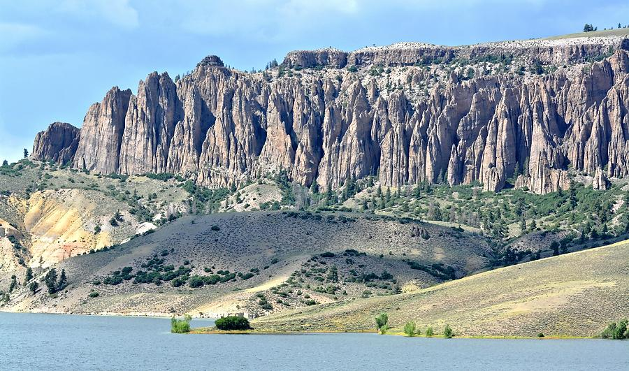 The Pinnacles In Colorado Photograph