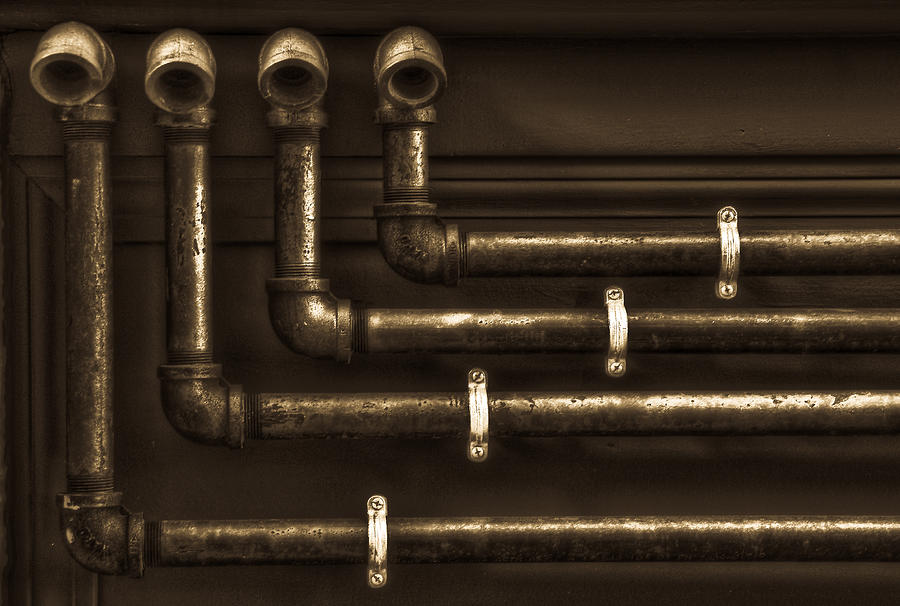 Hdr Photograph - The Pipes by Andrew Kubica