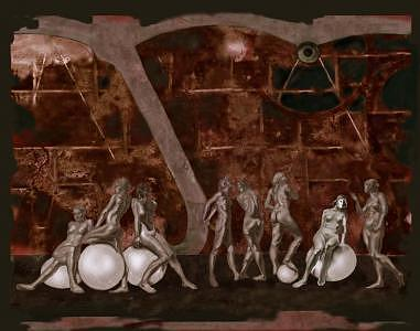 The Piranesi Effect Digital Art by Tom Durham