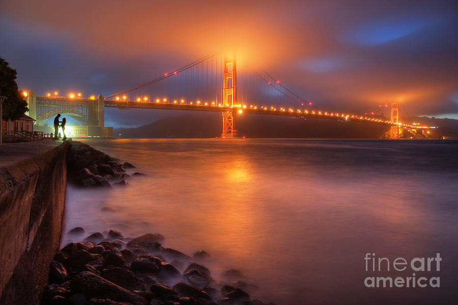 Seascape Photograph - The Place Where Romance Starts by William Freebilly photography