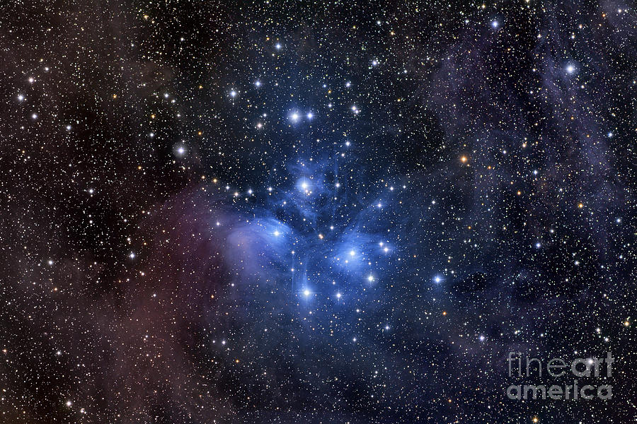 Messier 45 Photograph - The Pleiades, Also Known As The Seven by Roth Ritter
