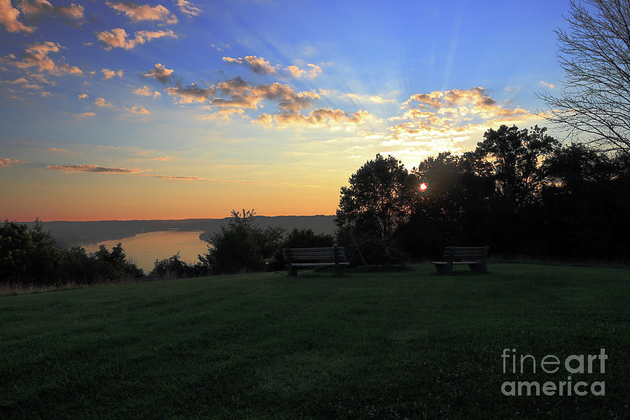 The Point at Sunrise by Melissa  Mim Rieman