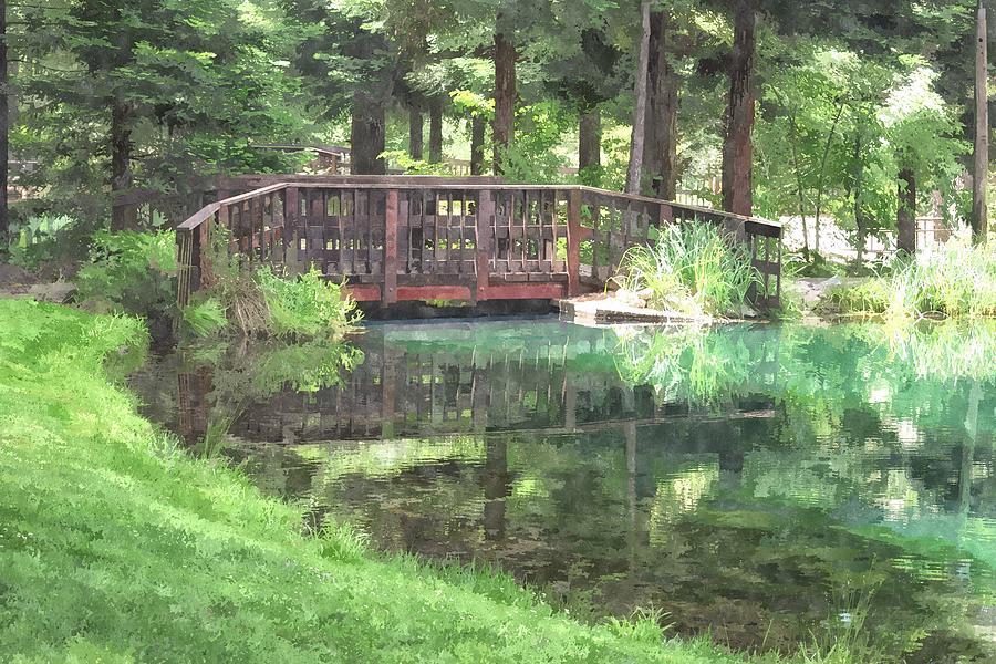 The Pond Bridge Photograph