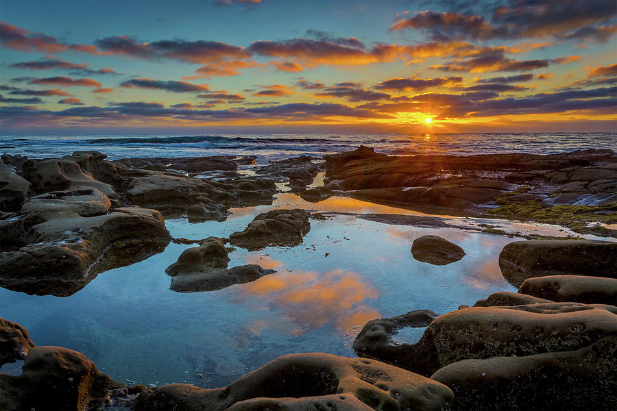 Beach Photograph - The Pool by Peter Tellone