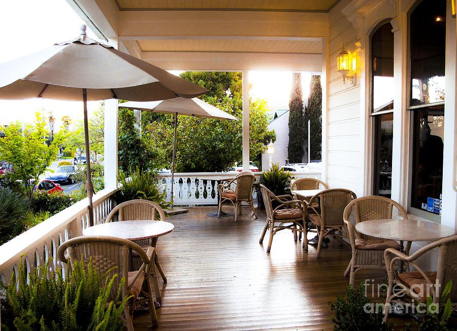 Porch Photograph - The Porch by Leslie Hunziker