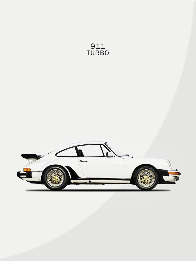 Porsche 911 Turbo Photograph - The Porsche 911 Turbo by Mark Rogan