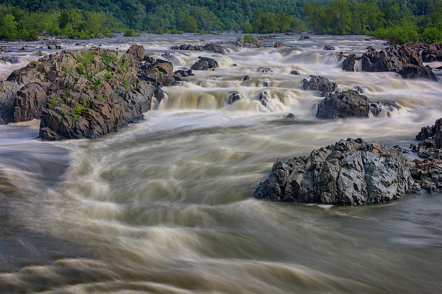 Great Falls Park Photograph - The Potomac by Rick Berk