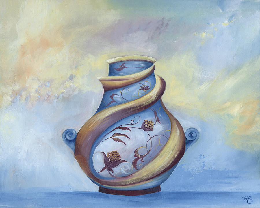 The Potter Painting by Julie Short