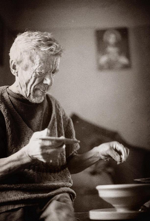 Ukraine Photograph - The Potter Of Haweryvschyna by Yuri Lev