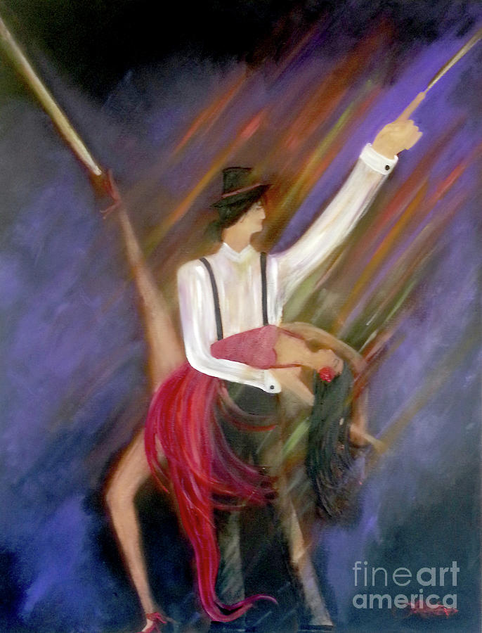 The Power Of Dance by Artist Linda Marie