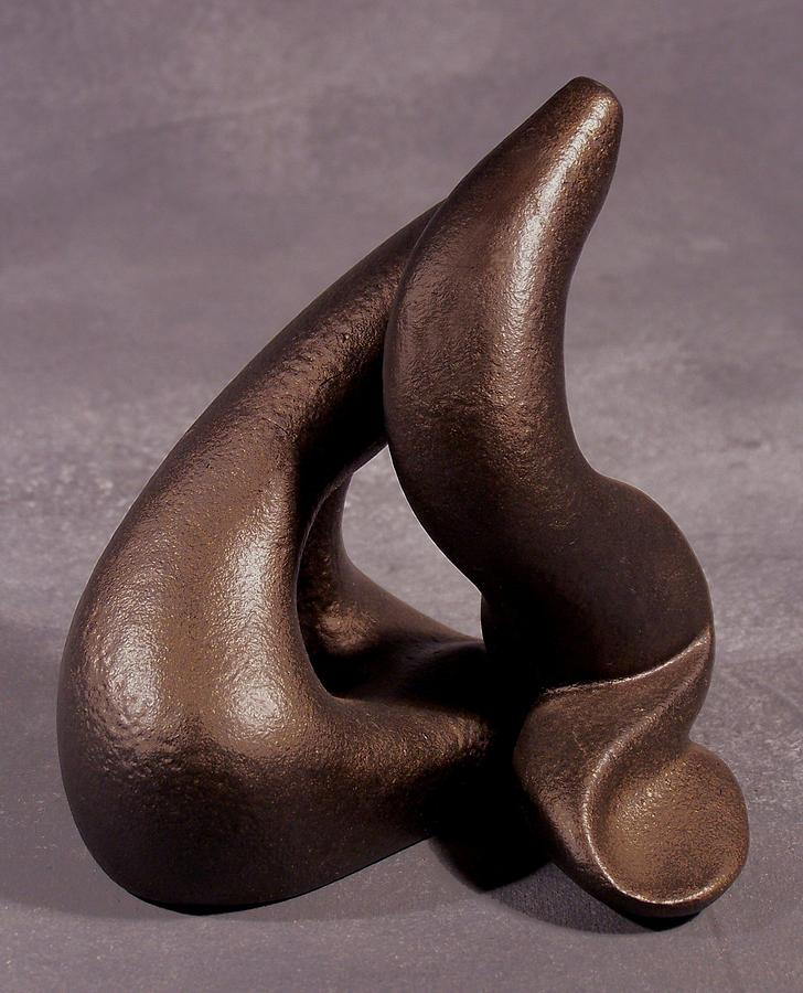 Sculpture Sculpture - The Power Of Point  by Lonnie Tapia