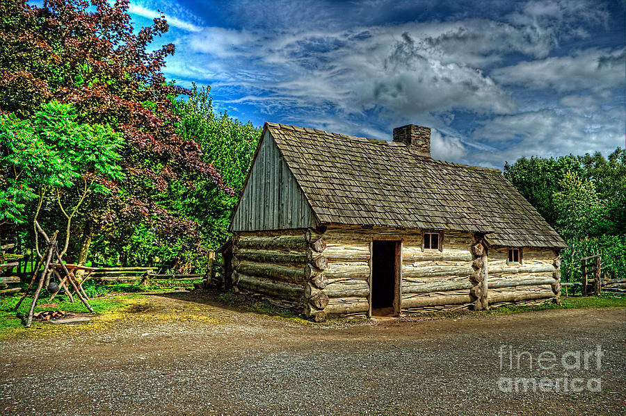 Prairie Photograph - The Prairie House by Kim Shatwell-Irishphotographer