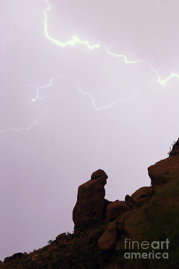Praying Monk Photograph - The Praying Monk Phoenix Arizona by James BO  Insogna