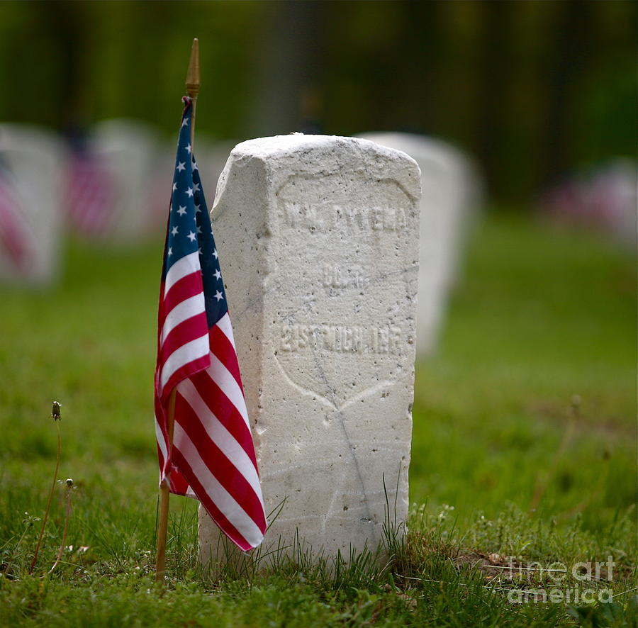 Grave Photograph - The Price Of Freedom by Robert Pearson